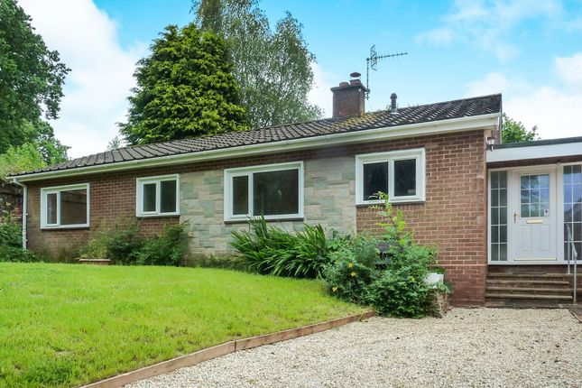 Thumbnail Detached bungalow for sale in Pomeroy Road, Tiverton