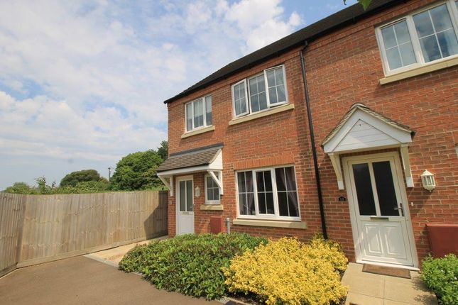 Thumbnail End terrace house for sale in Dahlia Close, March