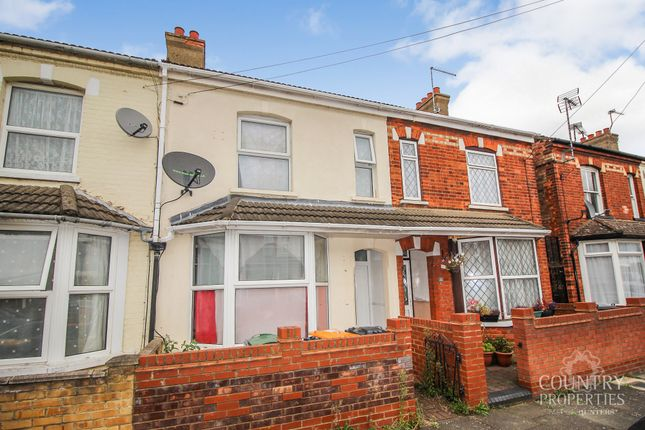 Thumbnail Terraced house to rent in Firbank Road, Bedford