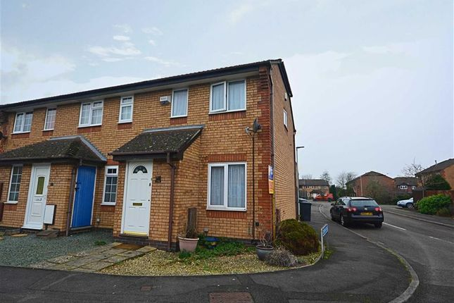 Thumbnail End terrace house to rent in Blackwater Way, Longlevens, Gloucester