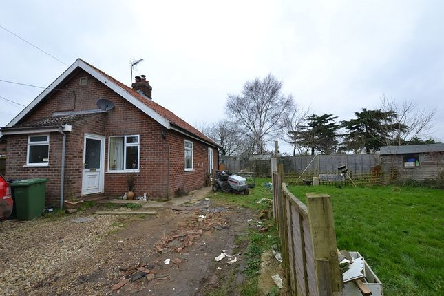 Thumbnail Detached bungalow for sale in Church Lane, Stanfield, Dereham, Norfolk.