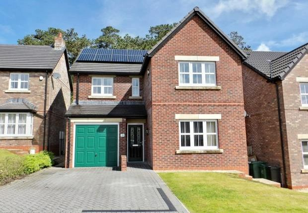 Thumbnail Detached house for sale in Mabel Wood Close, Great Clifton, Workington