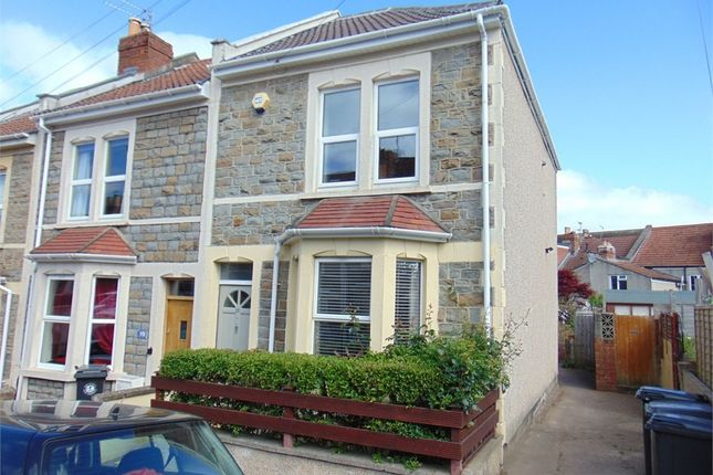 Thumbnail End terrace house for sale in Rugby Road, Brislington, Bristol