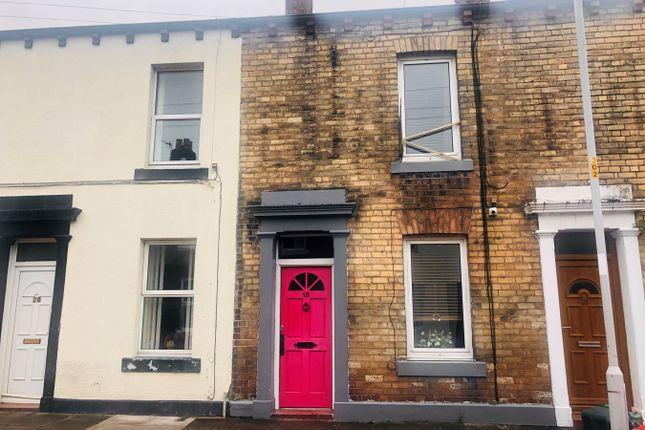Thumbnail Terraced house for sale in Hawick Street, Carlisle