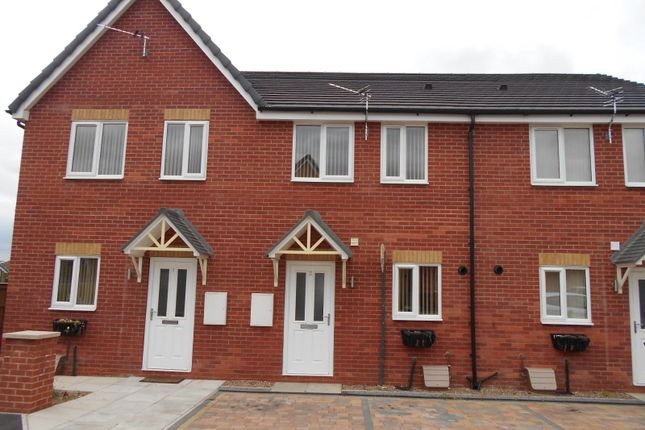 Thumbnail Town house to rent in Minsthorpe Mews, South Elmsall, Pontefract