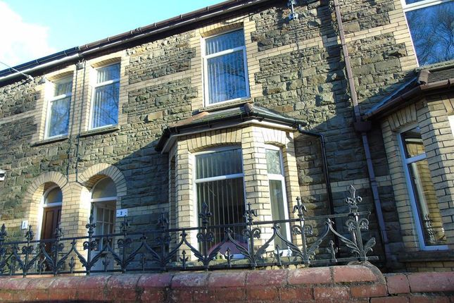 Thumbnail Terraced house to rent in Fields Park Terrace, Cross Keys, Newport