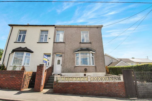 Thumbnail Semi-detached house for sale in Beaufort Road, Tredegar