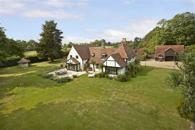 Thumbnail Detached house for sale in Vicarage Lane, Wraysbury Staines, Berkshire