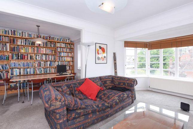 Living Room View of Belsize Court, Wedderburn Road, Belsize Park NW3