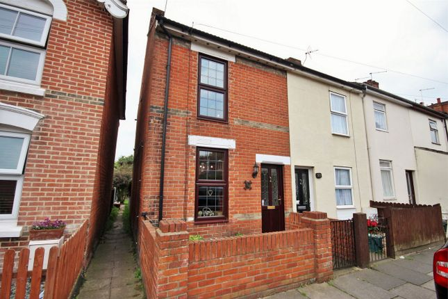 Thumbnail End terrace house for sale in Winchester Road, Colchester, Essex