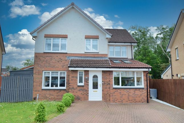 Thumbnail Detached house for sale in Dalmore Crescent, Carfin, Motherwell, South Lanarkshire