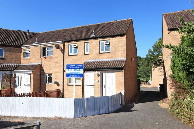 Thumbnail End terrace house for sale in 35 Oakfield Road, Shawbirch, Telford, Ona