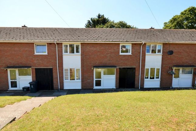 Thumbnail Terraced house to rent in York Close, Exmouth, Devon