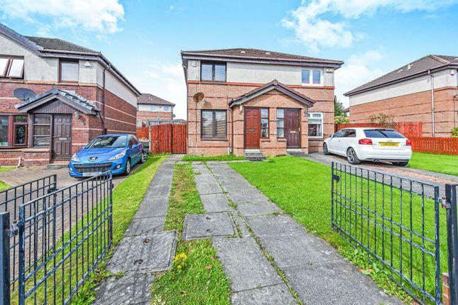 Thumbnail Semi-detached house for sale in Waulkmill Avenue, Barrhead, Glasgow