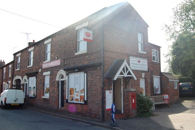 Thumbnail Retail premises for sale in 37-39 Main Road, Cheshire