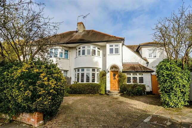 Thumbnail Semi-detached house for sale in Copthall Gardens, London