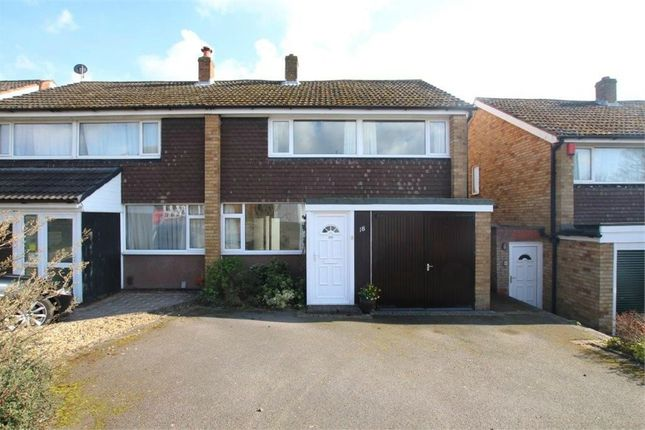 Thumbnail Semi-detached house to rent in Longstaff Croft, Lichfield, Staffordshire