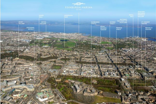 Ariel Image of Four Bed Penthouse Apartment, The Moorings, Edinburgh EH5