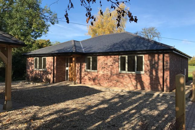 Thumbnail Detached bungalow for sale in Heath Road, Woolpit, Bury St. Edmunds