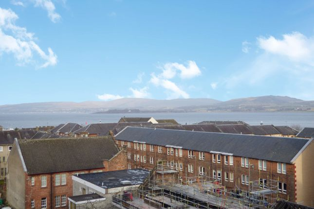 Front View of John Wood Street, Port Glasgow, Inverclyde PA14