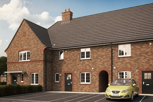 "Thumbnail Terraced house for sale in ""The Cranfield Elite "" at Kiln Drive, Stewartby, Bedford"