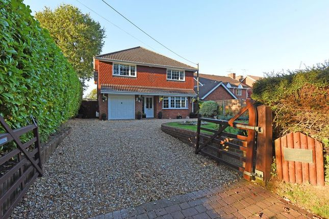 Thumbnail Detached house for sale in Reading Road, Chineham, Basingstoke