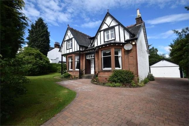 Thumbnail Detached house for sale in Donaldfield Road, Bridge Of Weir, Renfrewshire