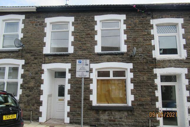 3 bed terraced house for sale in Primrose Street, Tonypandy, Rhondda Cynon Taff. CF40
