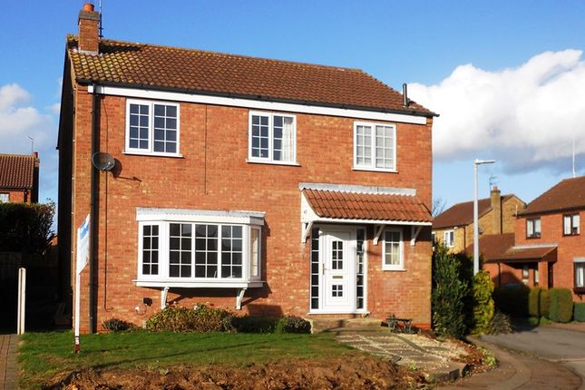 Thumbnail 4 bed detached house for sale in Ebor Manor, Keyingham, Hull