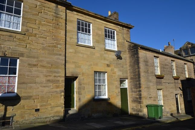 Thumbnail Terraced house for sale in Old Bank House, St Michaels Lane, Alnwick