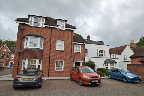 Thumbnail Flat for sale in High Street, Hartley Wintney, Hook