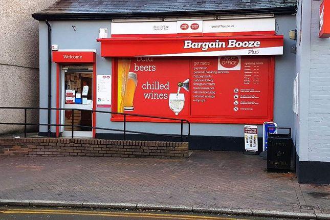Thumbnail Retail premises for sale in Wrexham