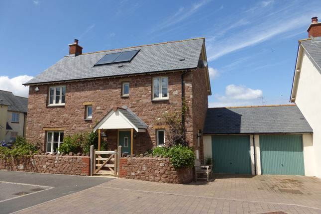 Thumbnail Detached house for sale in Meadow Close, Wheddon Cross, Minehead