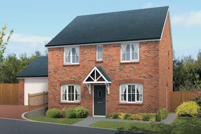 Thumbnail End terrace house for sale in The Bedford, Squires Meadow, Lea, Ross-On-Wye, Herefordshire