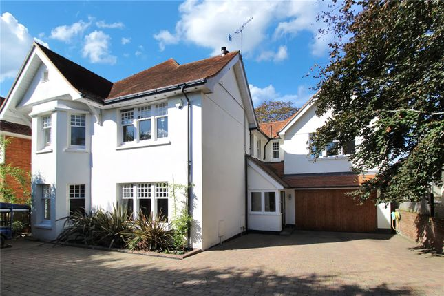 Thumbnail Detached house for sale in North Road, Lower Parkstone, Poole, Dorset