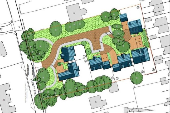 Thumbnail Land for sale in Werneth Road, Woodley, Stockport