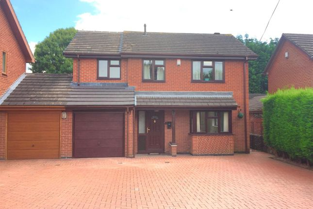 Thumbnail Detached house for sale in Dalston Road, Newhall, Swadlincote