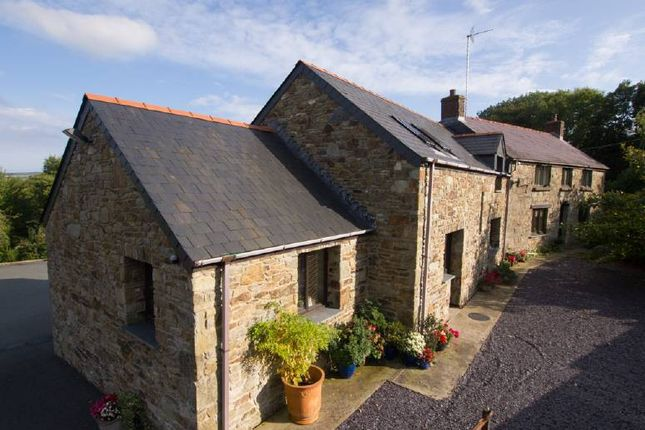 Thumbnail Farmhouse for sale in Velindre, Crymych
