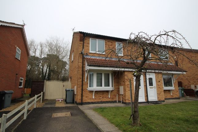 Thumbnail Semi-detached house to rent in Wentworth Drive, Grantham