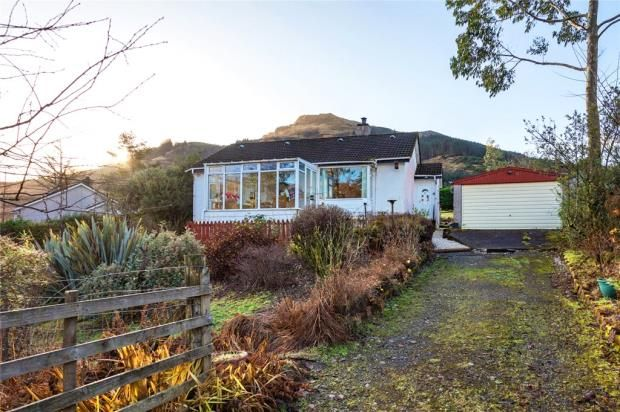 Thumbnail Detached bungalow for sale in Tigh-Na-Uisge, Lochgoilhead, Cairndow, Argyll And Bute