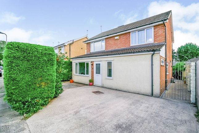 Thumbnail Detached house for sale in Lon Y Ffin, Cardiff
