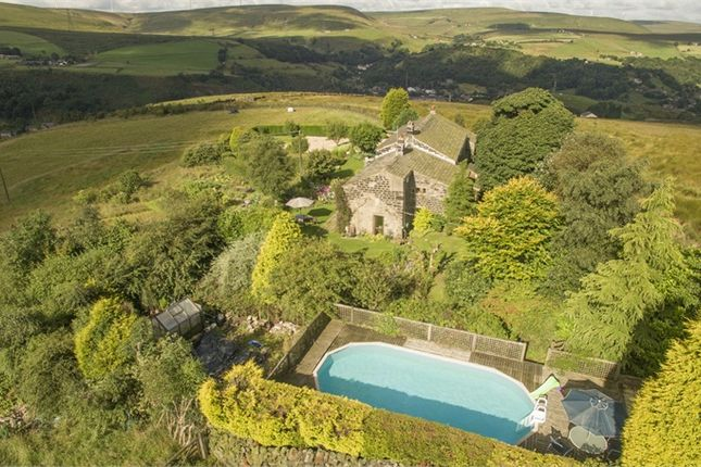 Thumbnail Detached house for sale in Hollingworth Lane, Todmorden