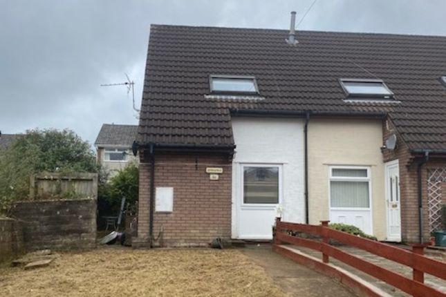 Thumbnail End terrace house for sale in Lanwood Road, Graigwen, Pontypridd
