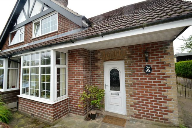 Thumbnail Semi-detached house for sale in Rising Sun Road, Gawsworth, Macclesfield, Cheshire