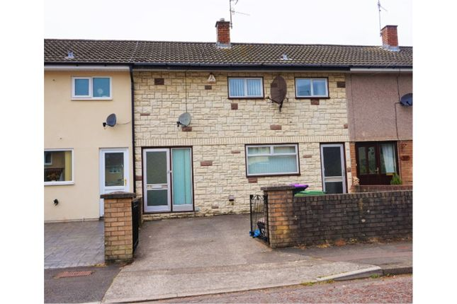 Thumbnail Terraced house for sale in Croesyceiliog, Cwmbran