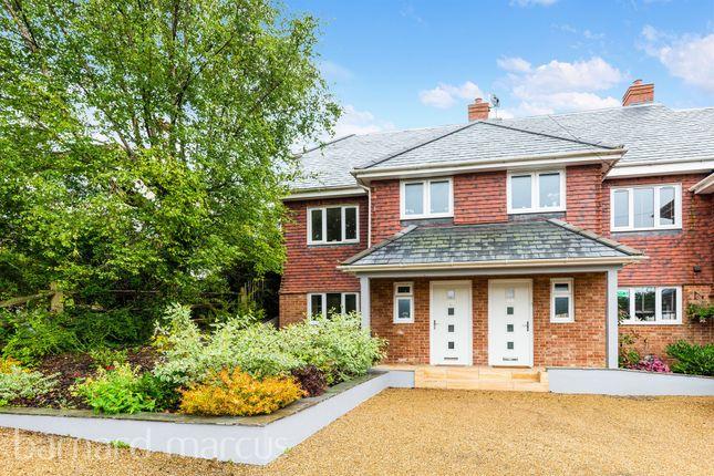 Thumbnail Semi-detached house for sale in Grosvenor Mews, Grosvenor Road, Epsom