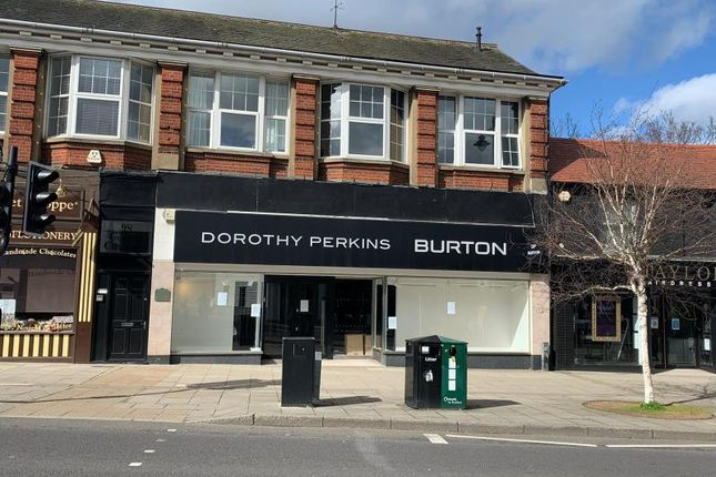 Thumbnail Retail premises to let in Shop, 96, High Street, Rayleigh