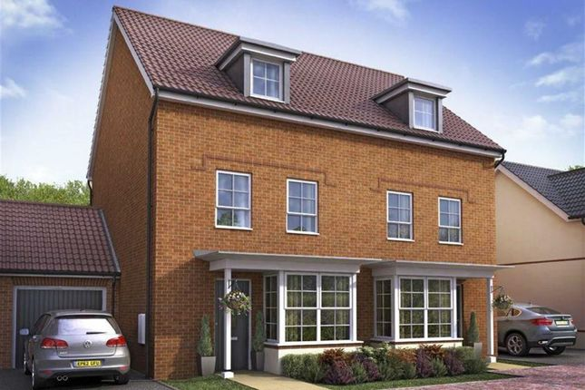 Thumbnail Terraced house for sale in Woodvale, Cissbury Chase, Worthing, West Sussex
