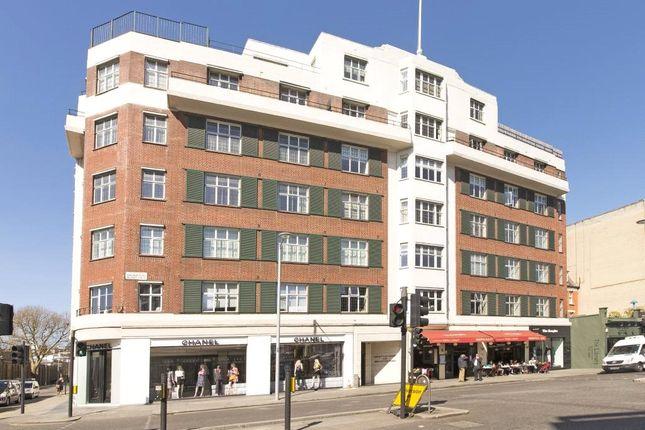 Exterior of Crompton Court, Brompton Road, London SW3