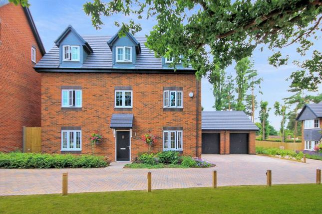 Thumbnail Detached house for sale in Manor Grove, Stafford